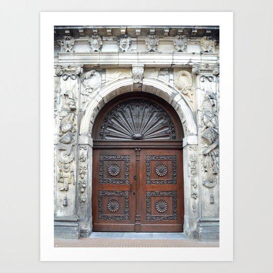 Dutch door Art Print
