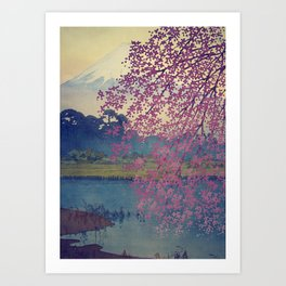 Bewilderment at Hainaan Art Print