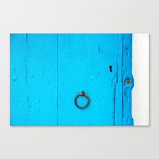 behind the door Canvas Print