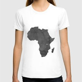 WATERCOLOR AFRICA MAP Africa Map Watercolor Painting Watercolor poster Handmade poster Continent T-shirt