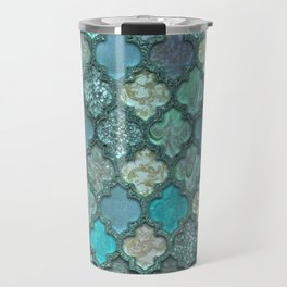 Moroccan Inspired Precious Tile Pattern Travel Mug
