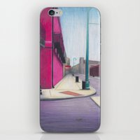 memphis iPhone & iPod Skins featuring Memphis Drawing by wendygray