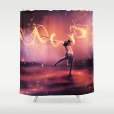 Fall Get up and Move Shower Curtain