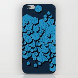 3D Futuristic Cubes VIII iPhone Skin