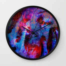 The witches of Salem Wall Clock
