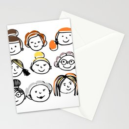 Sister hood - women internacional day Stationery Cards