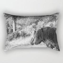 Pair of horses Rectangular Pillow