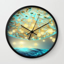 Human neuron structure Wall Clock