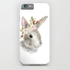 bunny with flower crown Slim Case iPhone 6s