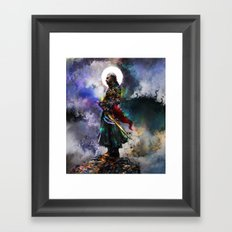 witchers dream Framed Art Print