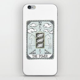 The Power iPhone Skin