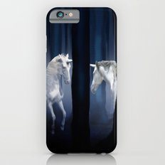 White Unicorns iPhone 6s Slim Case