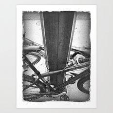 Lock Down Art Print