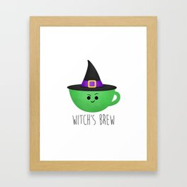 Witch's Brew Framed Art Print