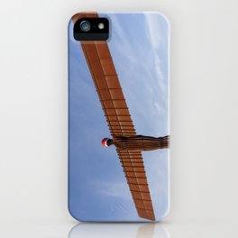 Angel of the North 3 iPhone Case