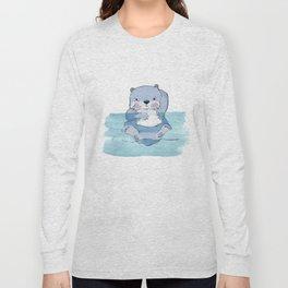 Kick Back Otter Long Sleeve T-shirt