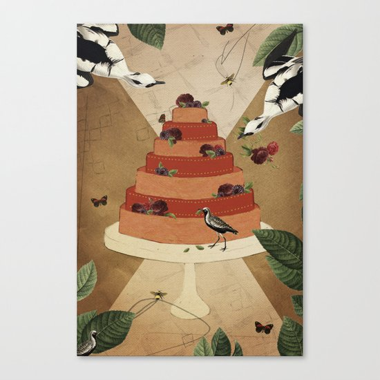 Let Them Eat Cake :: II Canvas Print