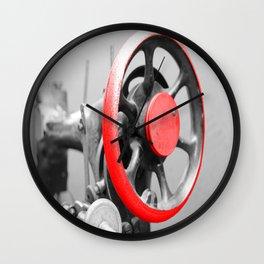 Wheel of a Sewing Machine Wall Clock