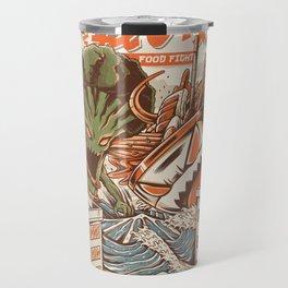 Kaiju Food Fight Travel Mug