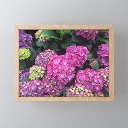 Pink Raindrops 2 Framed Mini Art Print