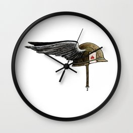 Winged M1 Wall Clock