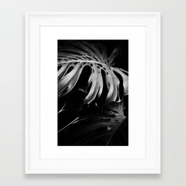 Nature monstera Framed Art Print