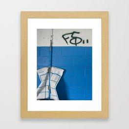 F5 Framed Art Print