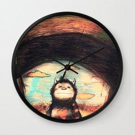 Wild Precious Life [ver. 2] Wall Clock