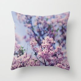 She Was an Introvert with a Beautiful Universe Inside Throw Pillow