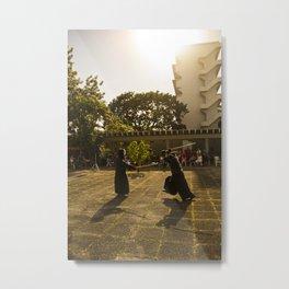 Mushin Metal Print