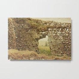 Clonmacnoise Castle Metal Print