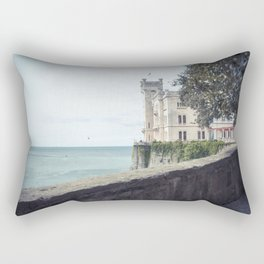 Ancient castle Rectangular Pillow