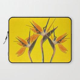 strelitzia - Bird of Paradise Flowers II Laptop Sleeve