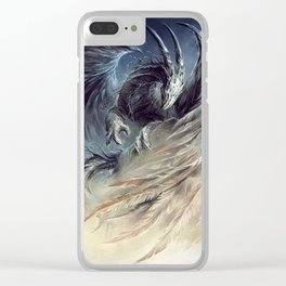 The Guardian of Dream - Art by Élian Black'Mor Clear iPhone Case