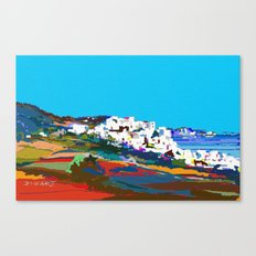 0071-Mediterranean 2 ba Canvas Print
