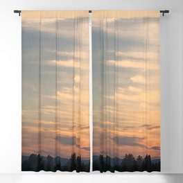 Sunrise Clouds Blackout Curtain