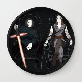 Rulers Wall Clock