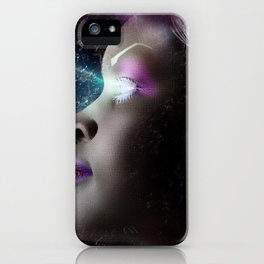 Portrait of Storm From the X Men iPhone Case