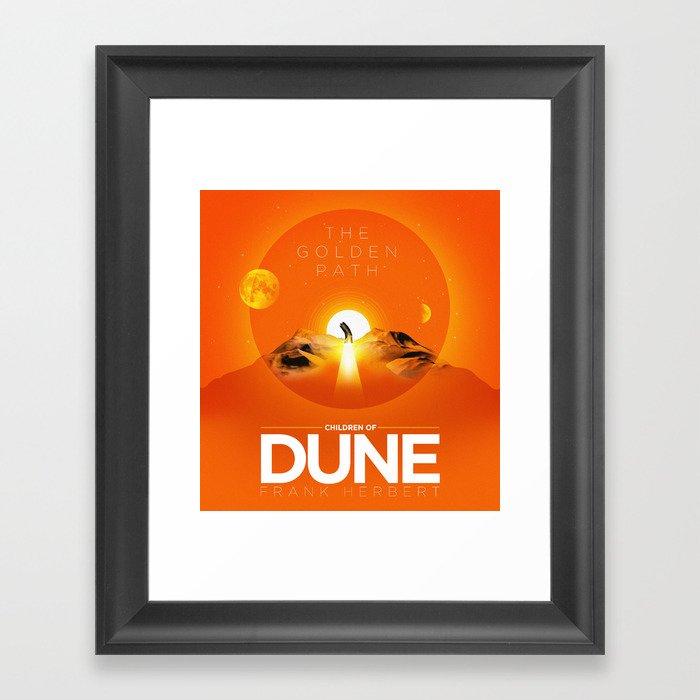The Golden Path Children Of Dune Poster Framed Art Print By Danielastarla Society6