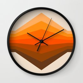 Golden Corner Wall Clock