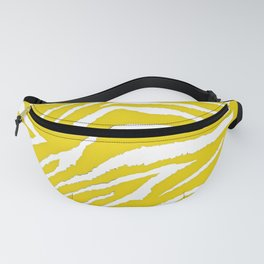 Zebra Golden Yellow Fanny Pack