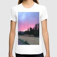 madrid T-shirts featuring atardecer Madrid by Maritserg