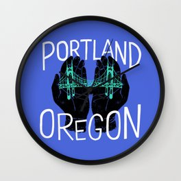 PDX Wall Clock