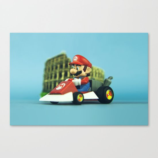 Super Mario: the homecoming Canvas Print
