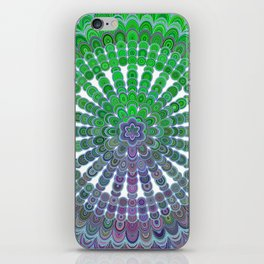 Spring Mandala Wheel iPhone Skin