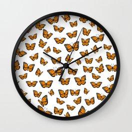 Papillons Wall Clock