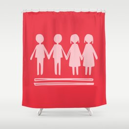 Equality Love Shower Curtain