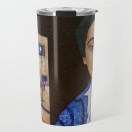 M. Helena Vieira da Silva - dialogue between abstraction and figuration Travel Mug