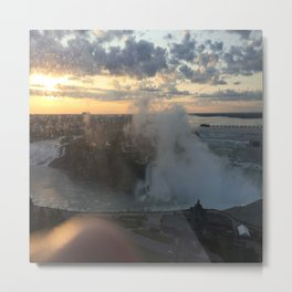 Niagra Falls from Canadian side. Metal Print