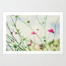 Dancing in the Meadow Art Print